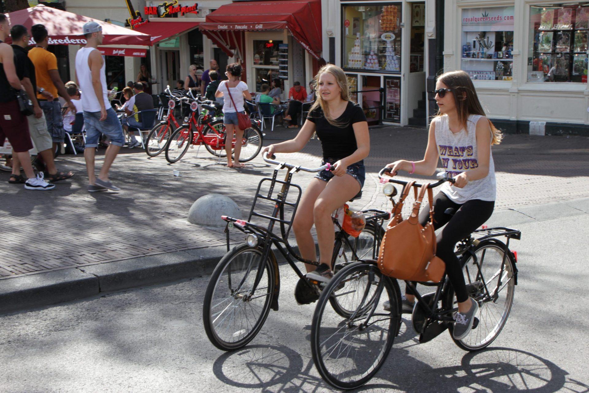 estudiar en Holanda, bicicletas